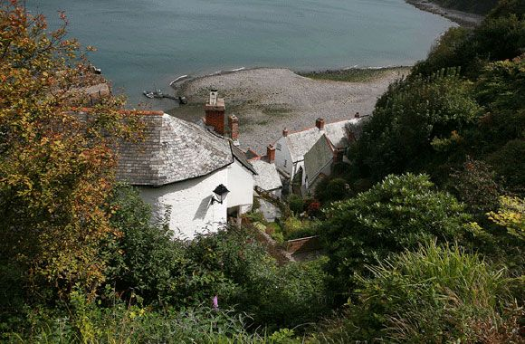 Clovelly, North Devon - this is the view I wake up to every morning when i lived and worked here.