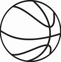 Image result for free basketball clipart black and white ...