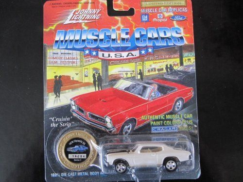 1970 Chevelle SS (cameo white) Series 3 Johnny Lightning Muscle Cars Limited Edition by Johnny Lightning. $0.99. 1970 Chevelle SS (cameo white) Series 3 Johnny Lightning Muscle Cars Limited Edition