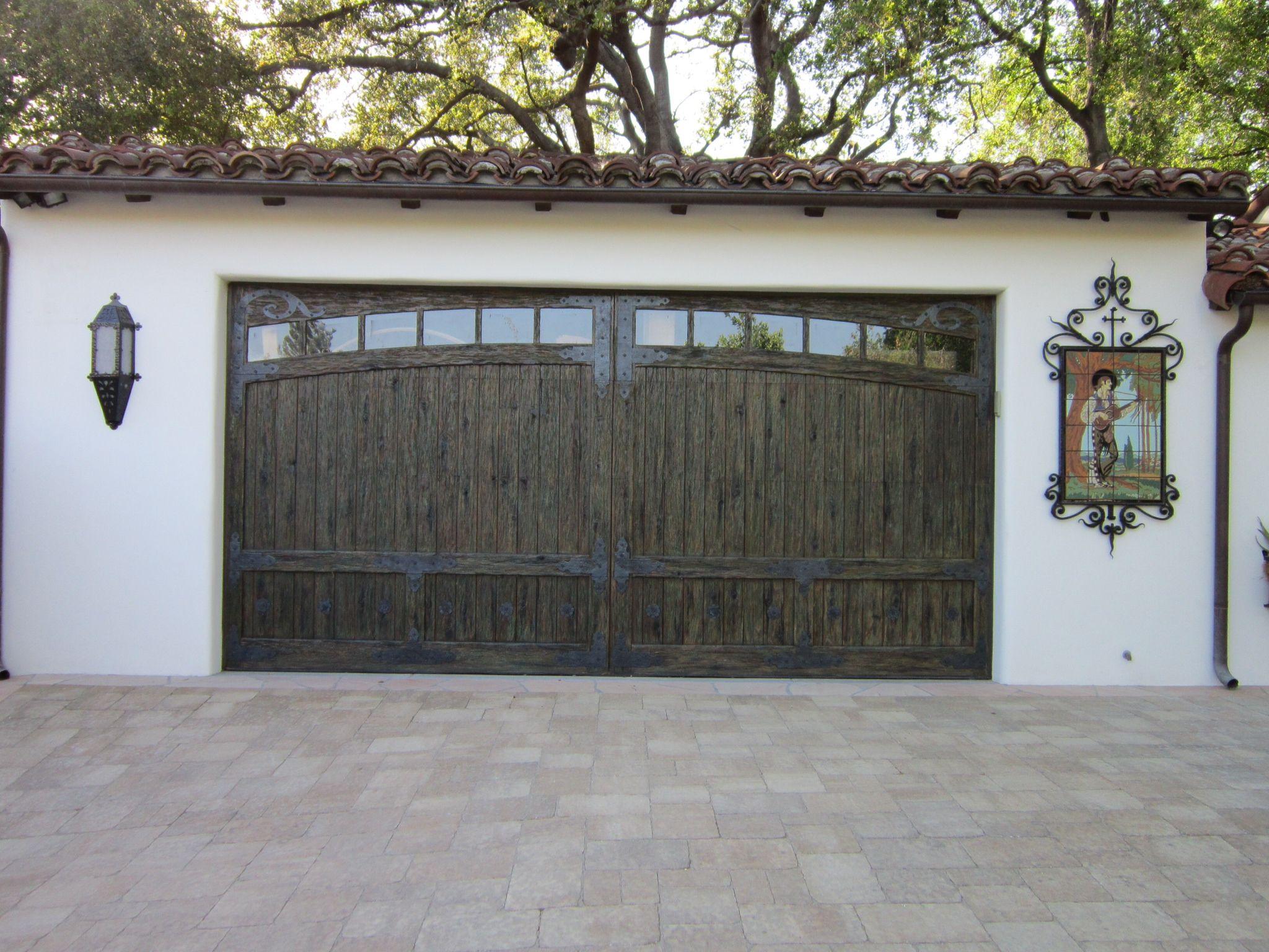 Garage door hardware our light and tile mural