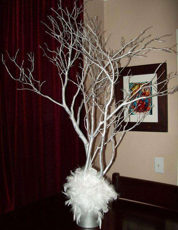 Manzanita Branches Manzanita Branch Centerpiece by SweetSylDesigns ...
