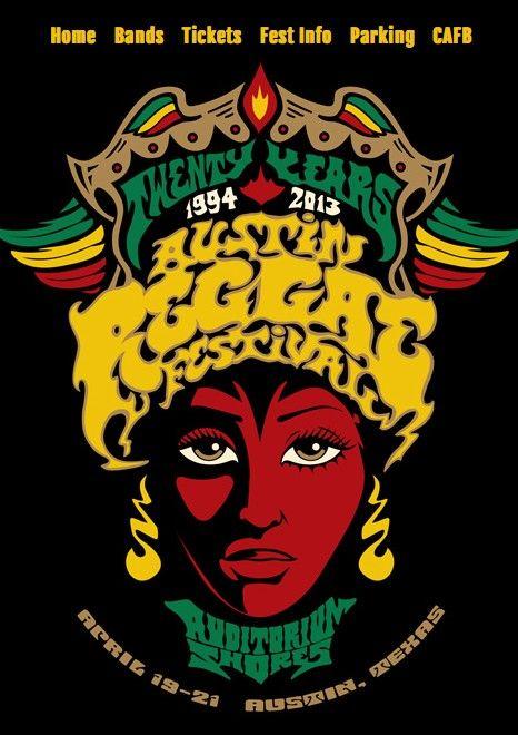 20th Anniversary Austin Reggae Festival | April 19-21 | http://austinreggaefest.com/