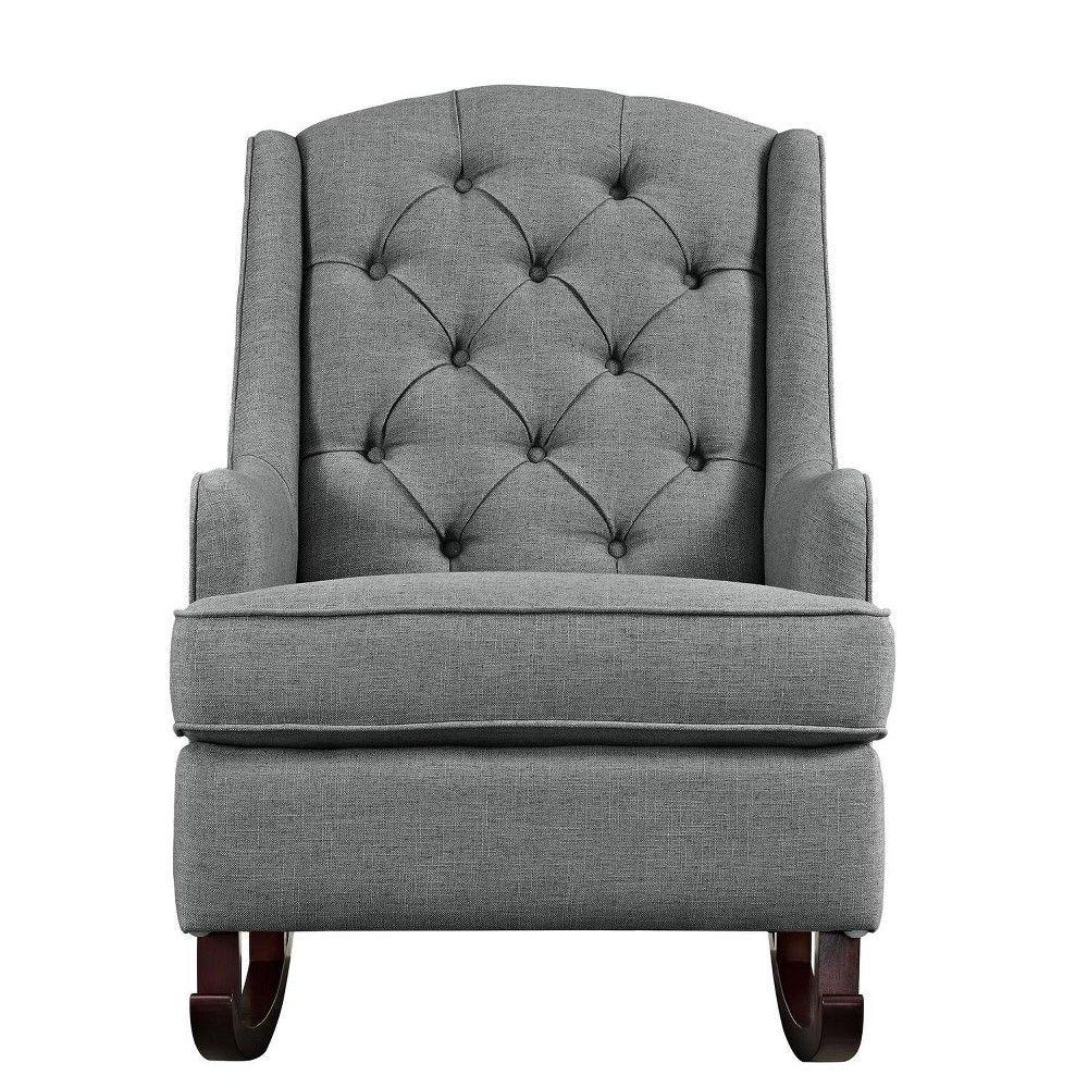 3' Faux Fur Round Rug White Pillowfort™ Tufted rocking
