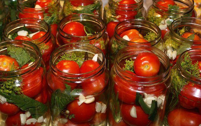 Маринованные помидоры лучшее полив