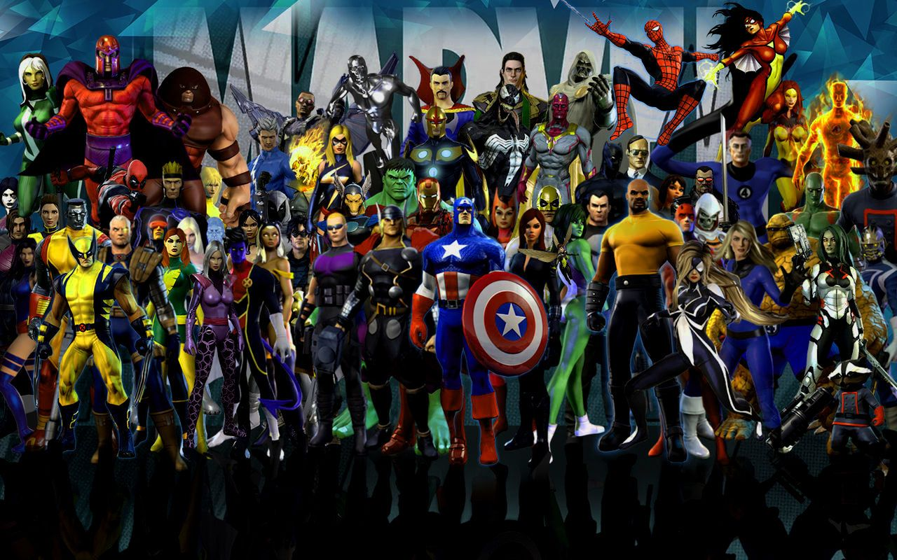 amazing marvel heroes 4k para seu windows wallpaper full hd com