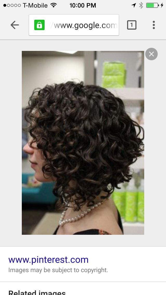 Naturally Curly Bob Cut Beauty In 2018 Pinterest Curly Hair