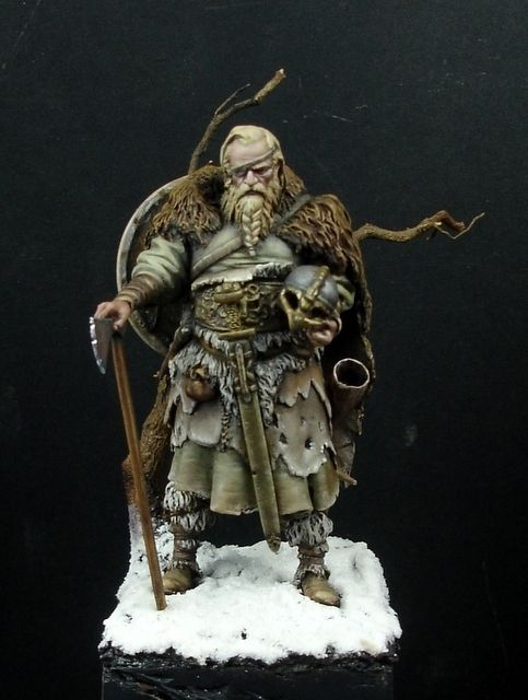 Viking - check out www treefrogtreasures com for figures like this