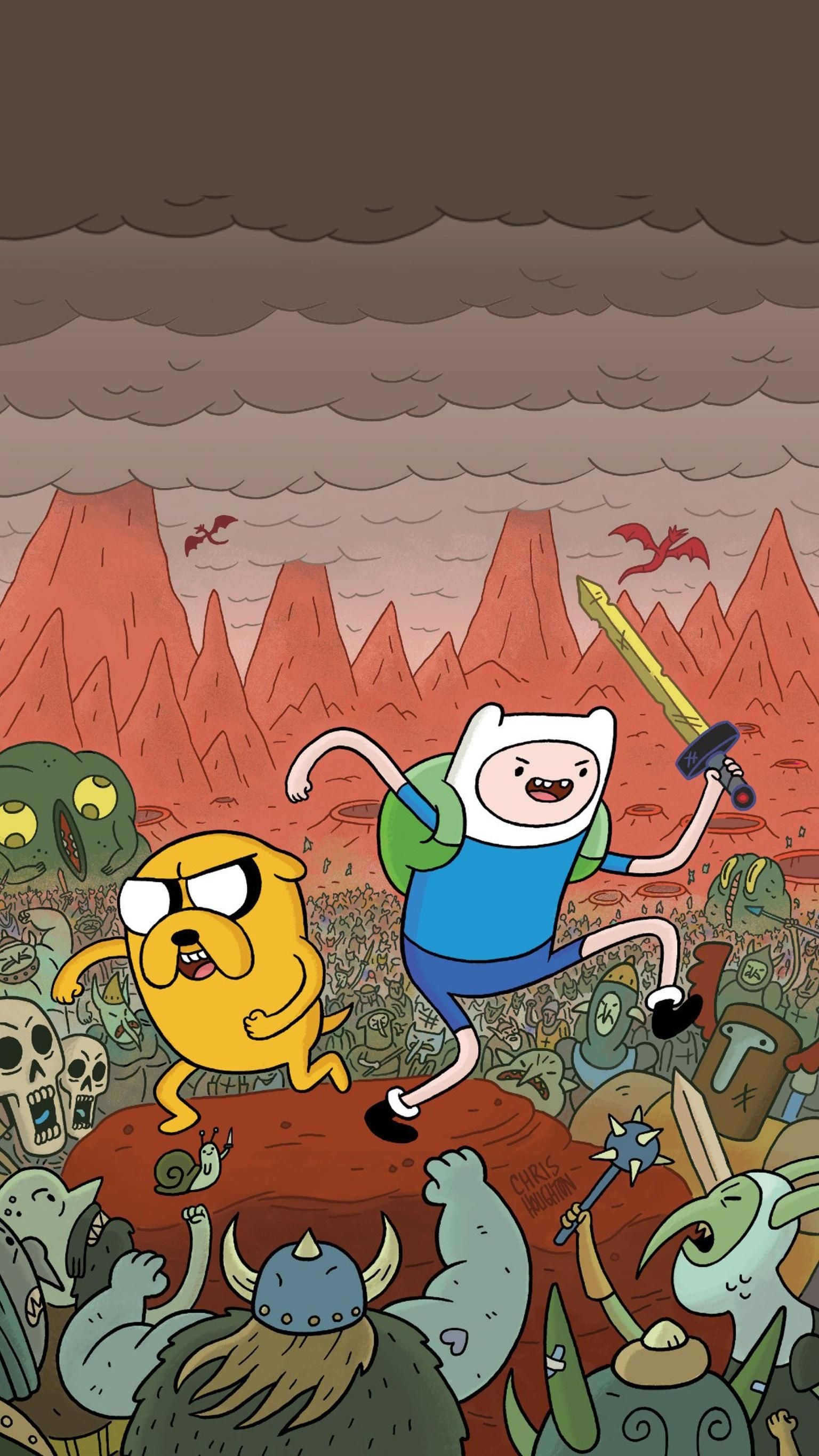 Adventure Time Phone Wallpaper Moviemania In 2020 Adventure Time Wallpaper Cartoon Wallpaper Iphone Cartoon Wallpaper