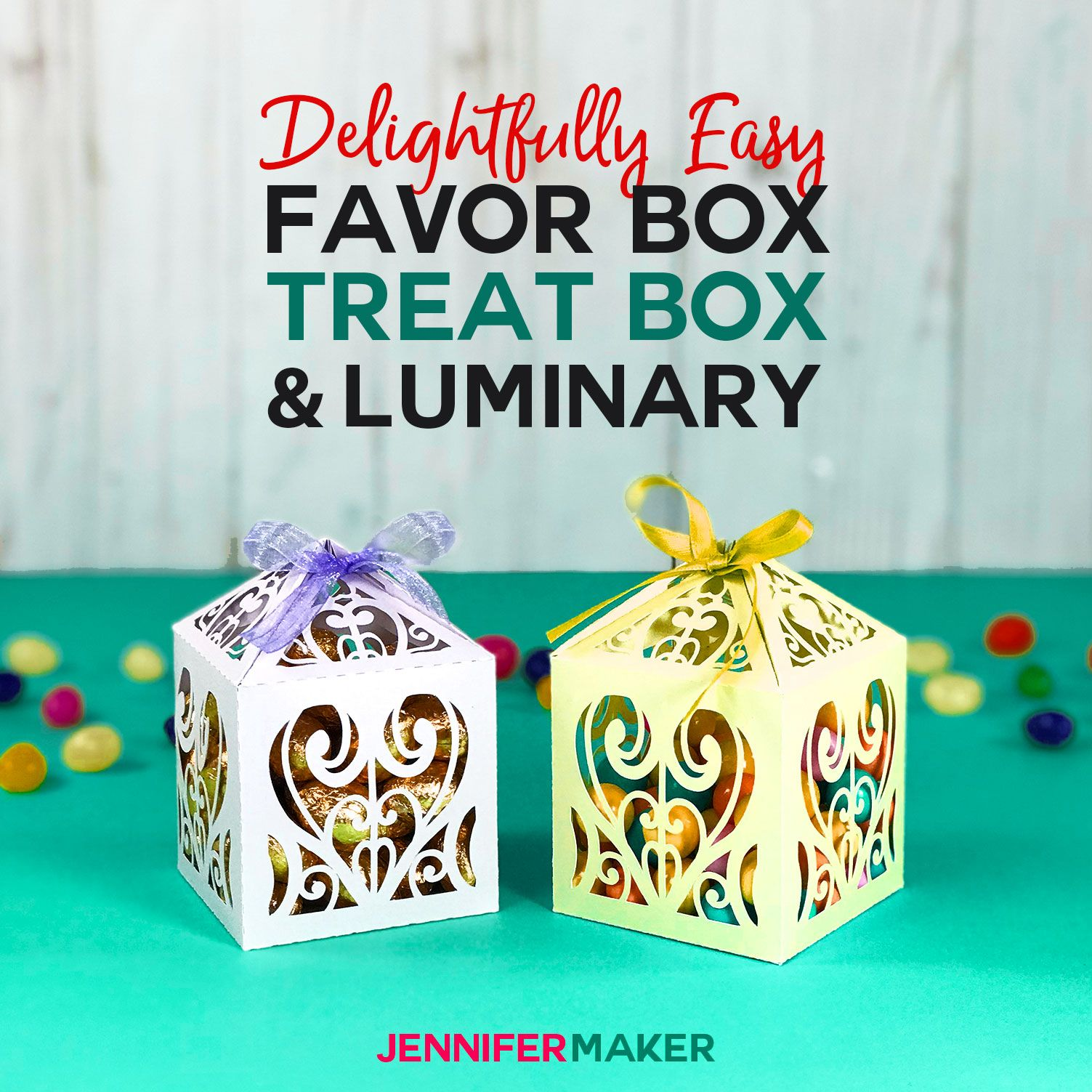 DIY Favor Boxes, Treat Boxes, & Paper Luminaries Crafts