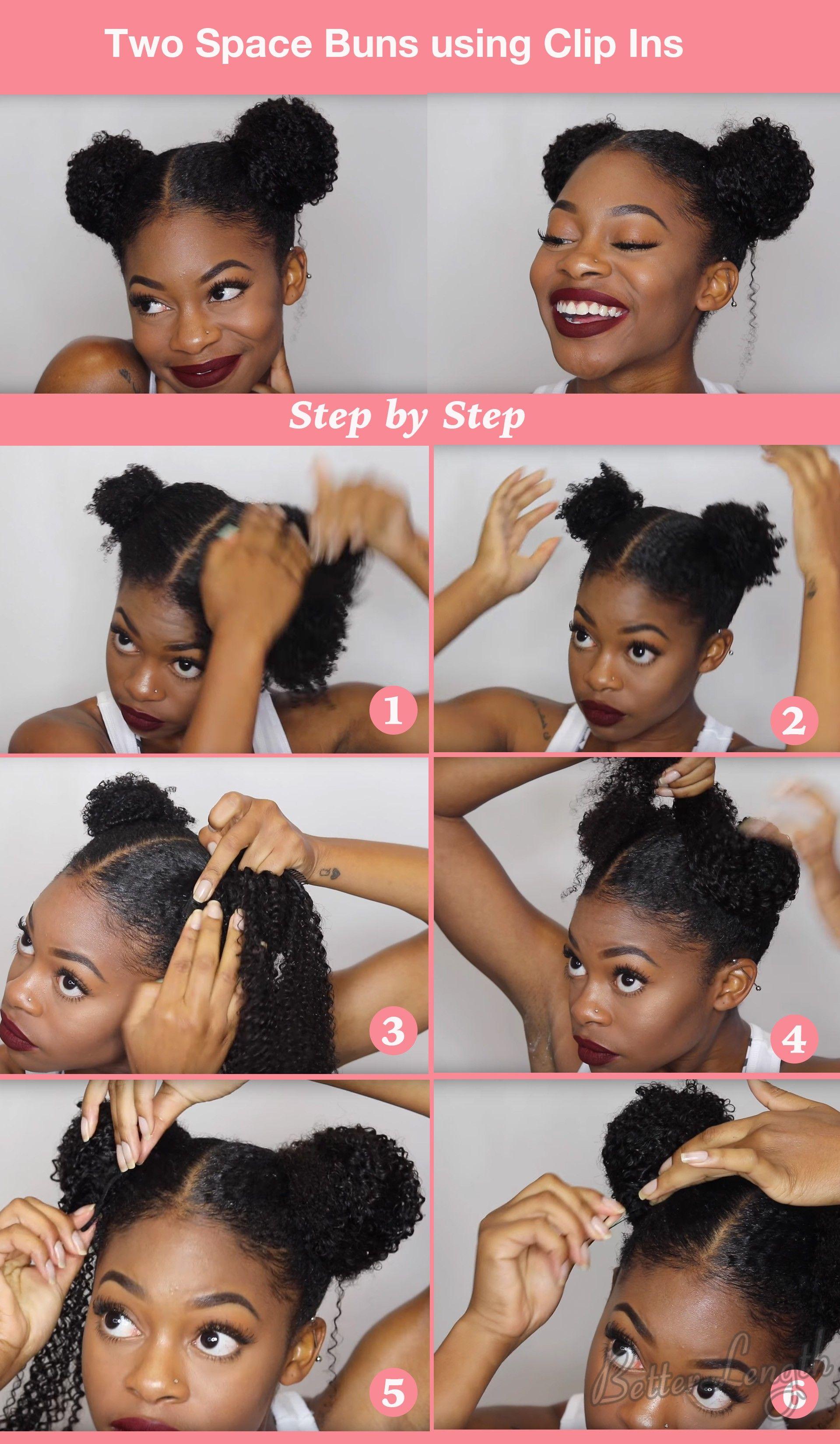 TOP 6 Quick & Easy Natural Hair Updos   Natural hair updo ...