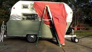Image result for diy retro awning   Vintage camper ...