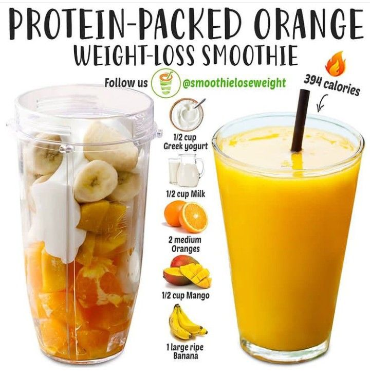 10 Best Smoothies To Help You Lose Weight Quickly|