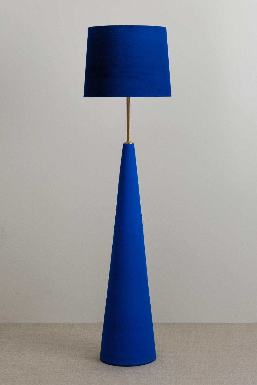 Ceramics – Tags – Cathrine Raben Davidsen   Blue floor lamps