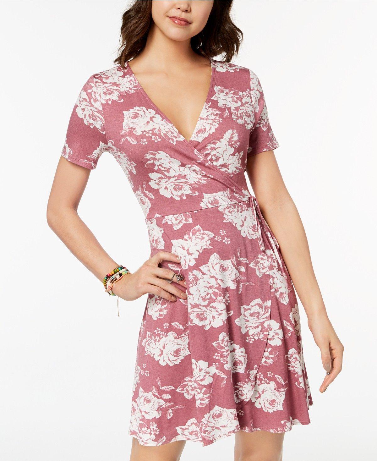 One Clothing Juniors Side Tie Wrap Dress Juniors Dresses Macy S Dresses Casual Summer Dresses Elegant Dresses Long [ 1467 x 1200 Pixel ]