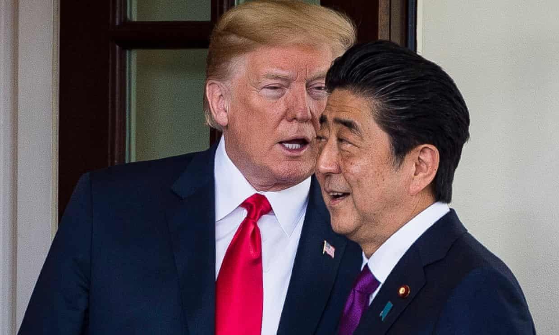 Japan Pm Refuses To Deny Nominating Trump For Nobel Prize Nobel Peace Prize Shinzō Abe Trump