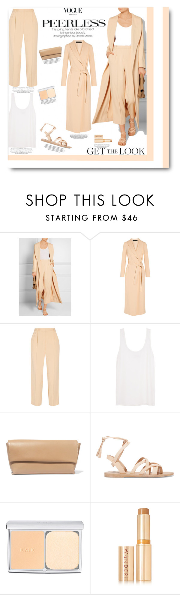 """""""fashion-and- beauty -miracles """"78"""" by fashion-and-beauty-miracles ❤ liked on Polyvore featuring The Row, Equipment, Valia Gabriel, RMK, Wander Beauty, women's clothing, women, female, woman and misses"""