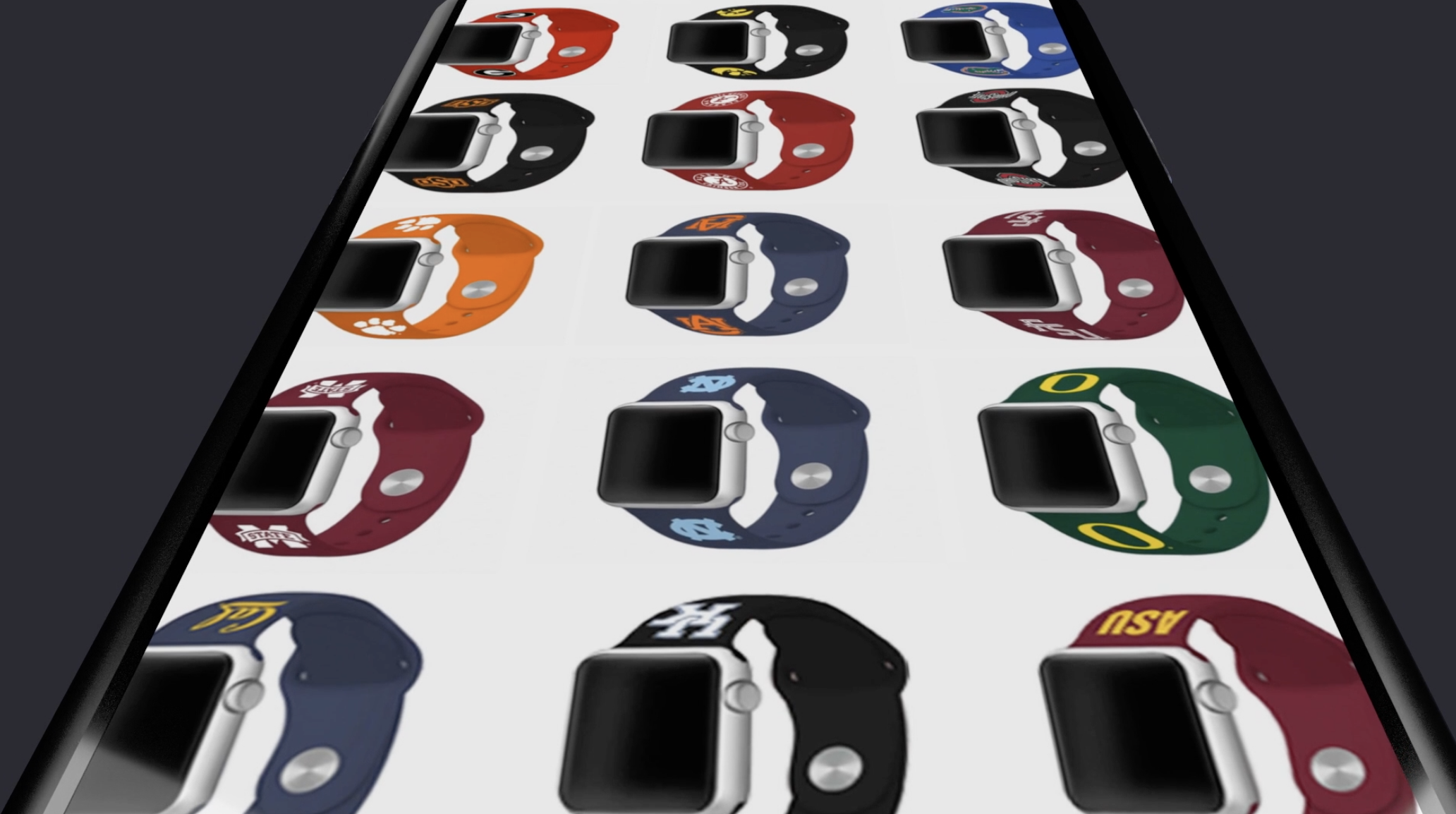 College Watchbands for Apple Watches.. Click the pic!