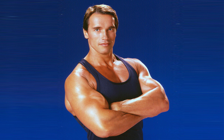 Young Arnold Schwarzenegger Hd Desktop Wallpaper Photos