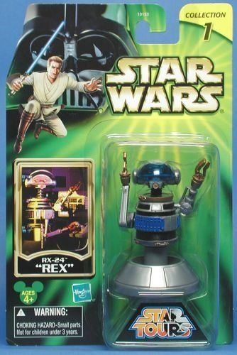 "Star Wars Disney Star Tours RX-24 ""Rex"" Action Figure by Hasbro ..."
