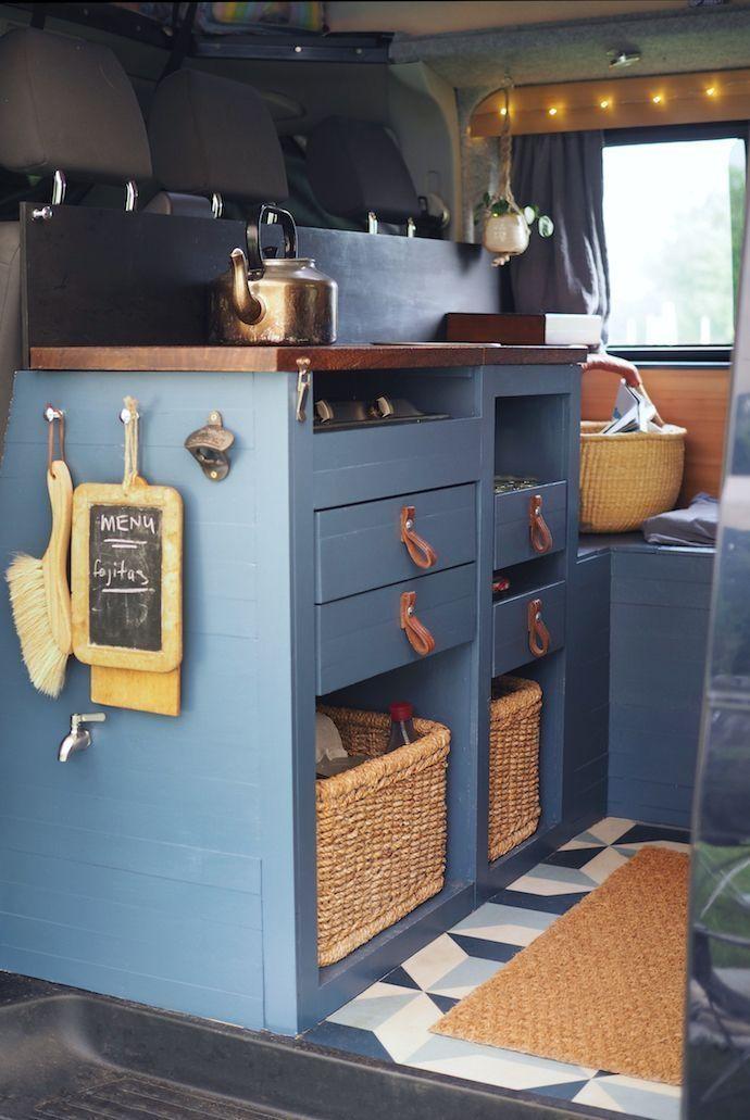 Pin By Emma Adams On My Rb Campervan Interior Van Life Diy Campervan Conversions