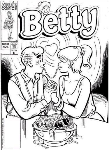 Coloring Page Archie Comic Publications Inc Https Www Pinterest Com Citygirlpideas Archie Coloring Pages Archie Comics Archie Comics Betty