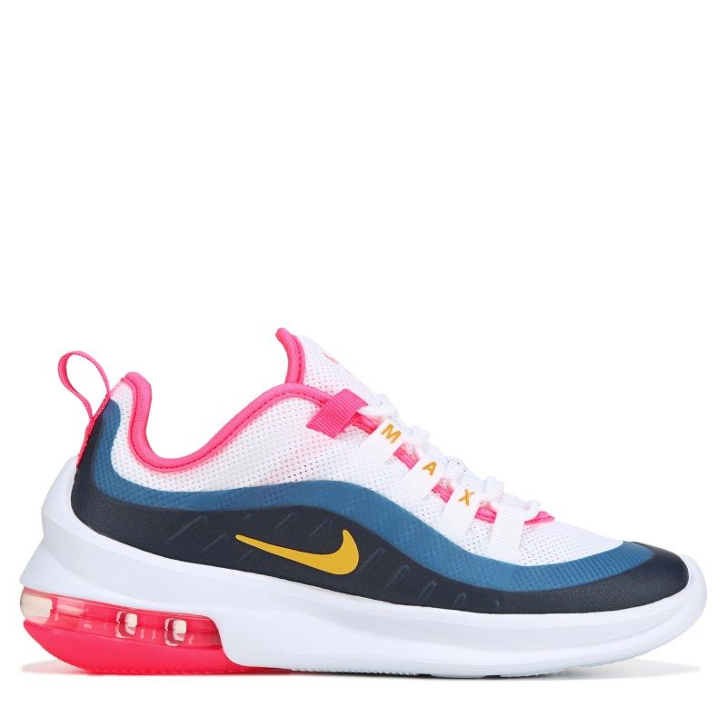 b830041e6 Nike Women's Air Max Axis Sneakers (White/Pink/Navy/Yell) in 2019 ...
