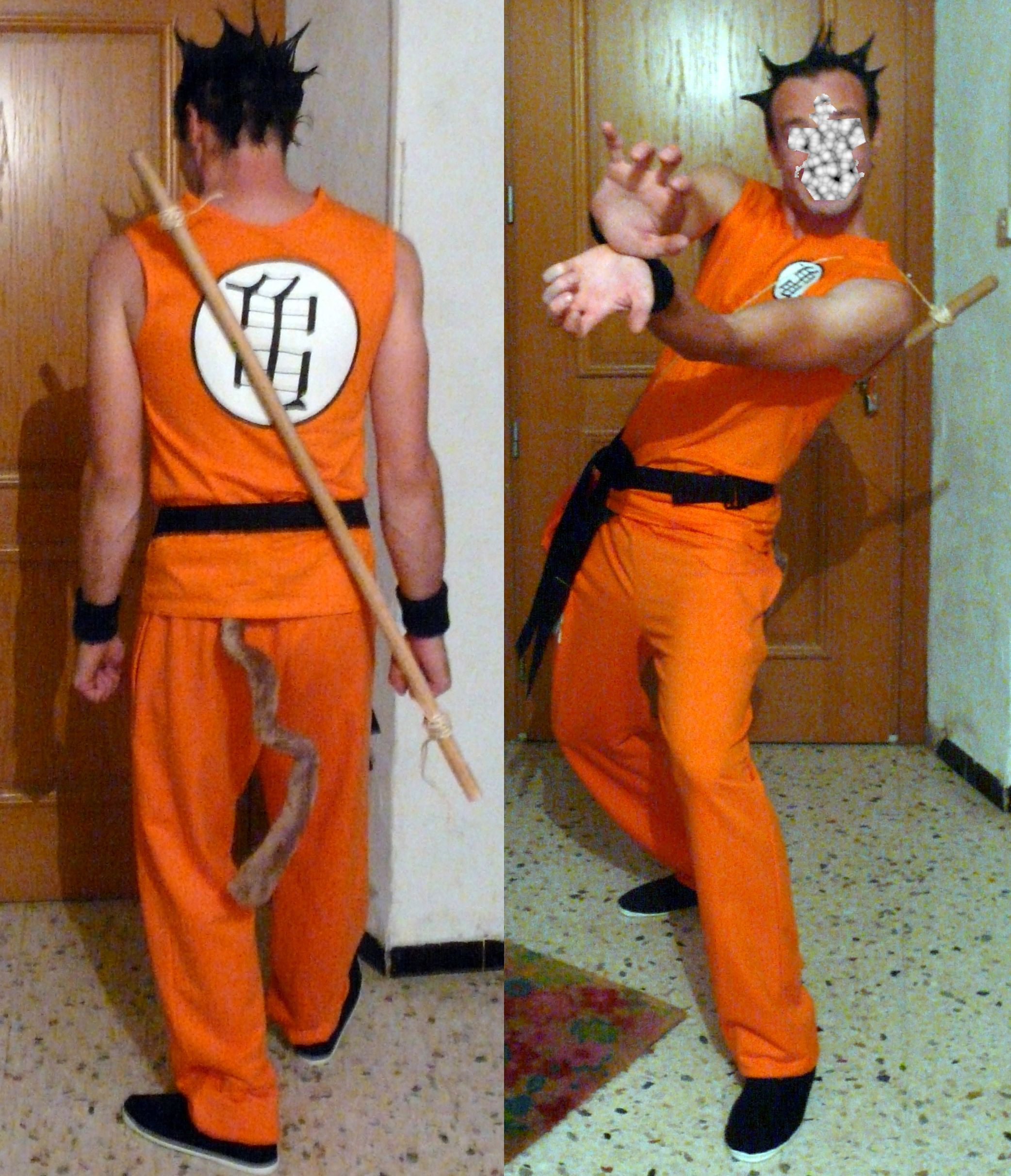Costume Japan theme. Character of Goku Dragon Ball Z Japanese ...