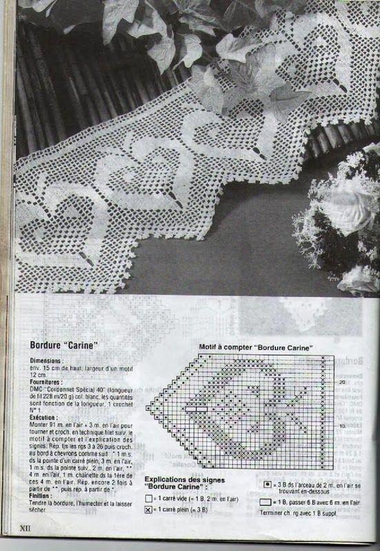 Szydełkomania   maria manchega   Pinterest   Crochet patrones ...