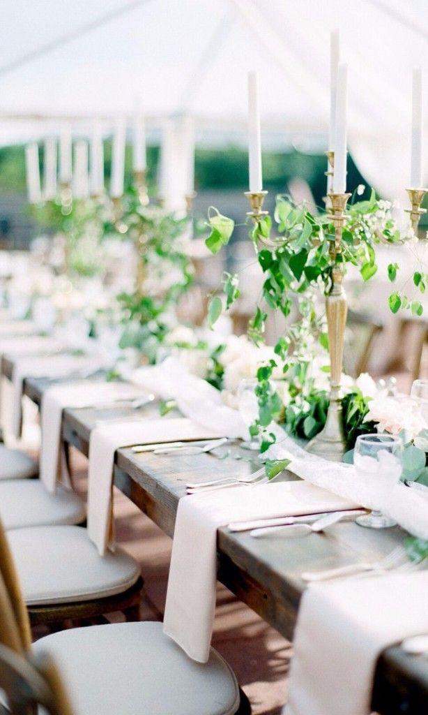 8 Pretty Ways To Fold Napkins At Your Wedding Reception Wedding