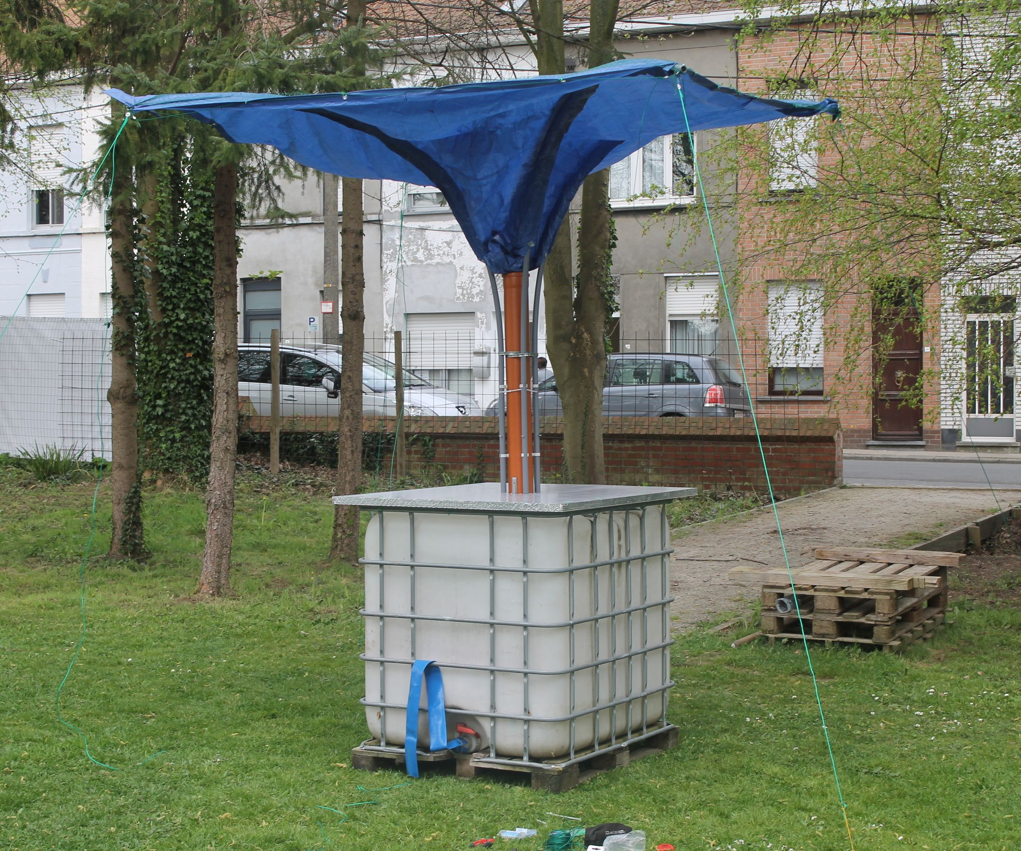 STANDALONE RAINWATER COLLECTOR Rainwater harvesting