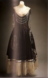 An Early Lanvin Design She Was An Influential Early 20th Century Fashion Designer And The Creator Of The Lanvin Fashion House Fashion 20th Century Fashion