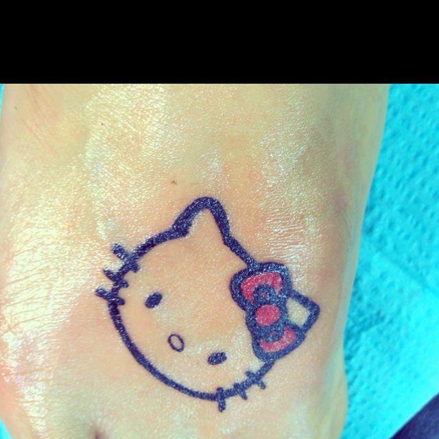 i want a hello kitty tattoo hella bad.