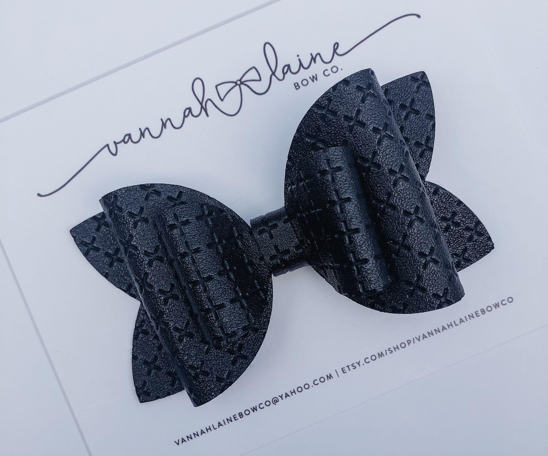 Black Hair Bow for Girls Fall Headband Bow for Toddler Girls | Etsy