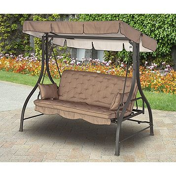 Alcove 3 Seat Hammock Cushion Swing Best Outdoor Furniture Outdoor Furniture Diy Outdoor Furniture