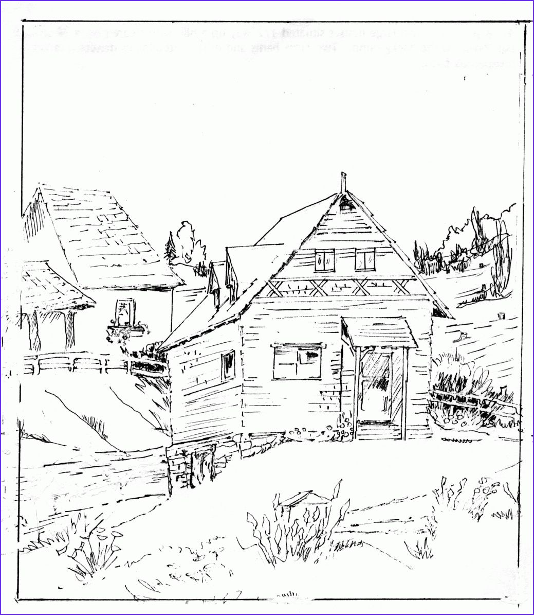 Log Cabin Coloring Log Cabin Coloring Pages Coloring Home