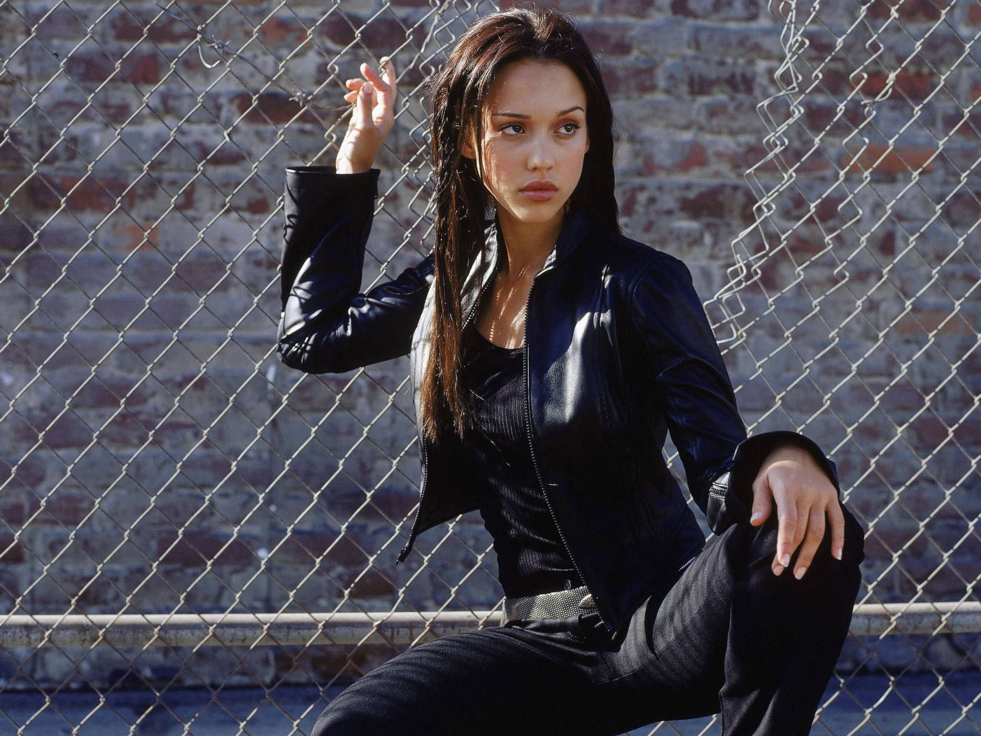 Image Result For Straight Black Hair Outdoors Jessica Alba Hot