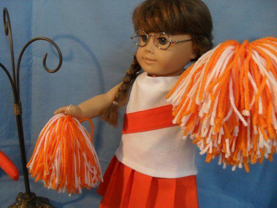 18 Inch Girl Doll Cheerleading Uniform #18inchcheerleaderclothes