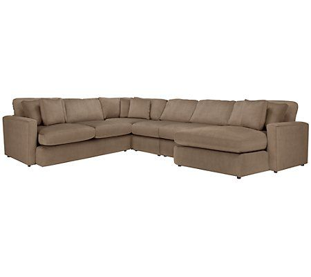 City Furniture Tara2 Dk Taupe Micro Right Chaise Sect