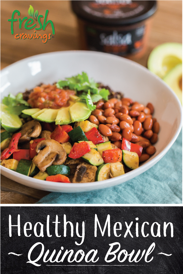 Healthy Mexican Quinoa Bowl