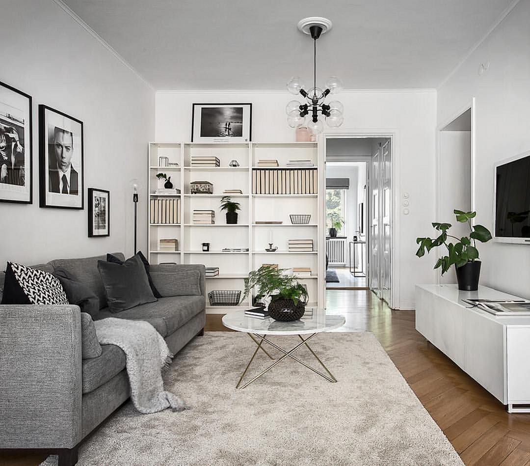 20 Beautiful Simple Apartment Decoration Ideas For More Comfort In 2020 Living Room Designs Home Living Room Simple Apartments