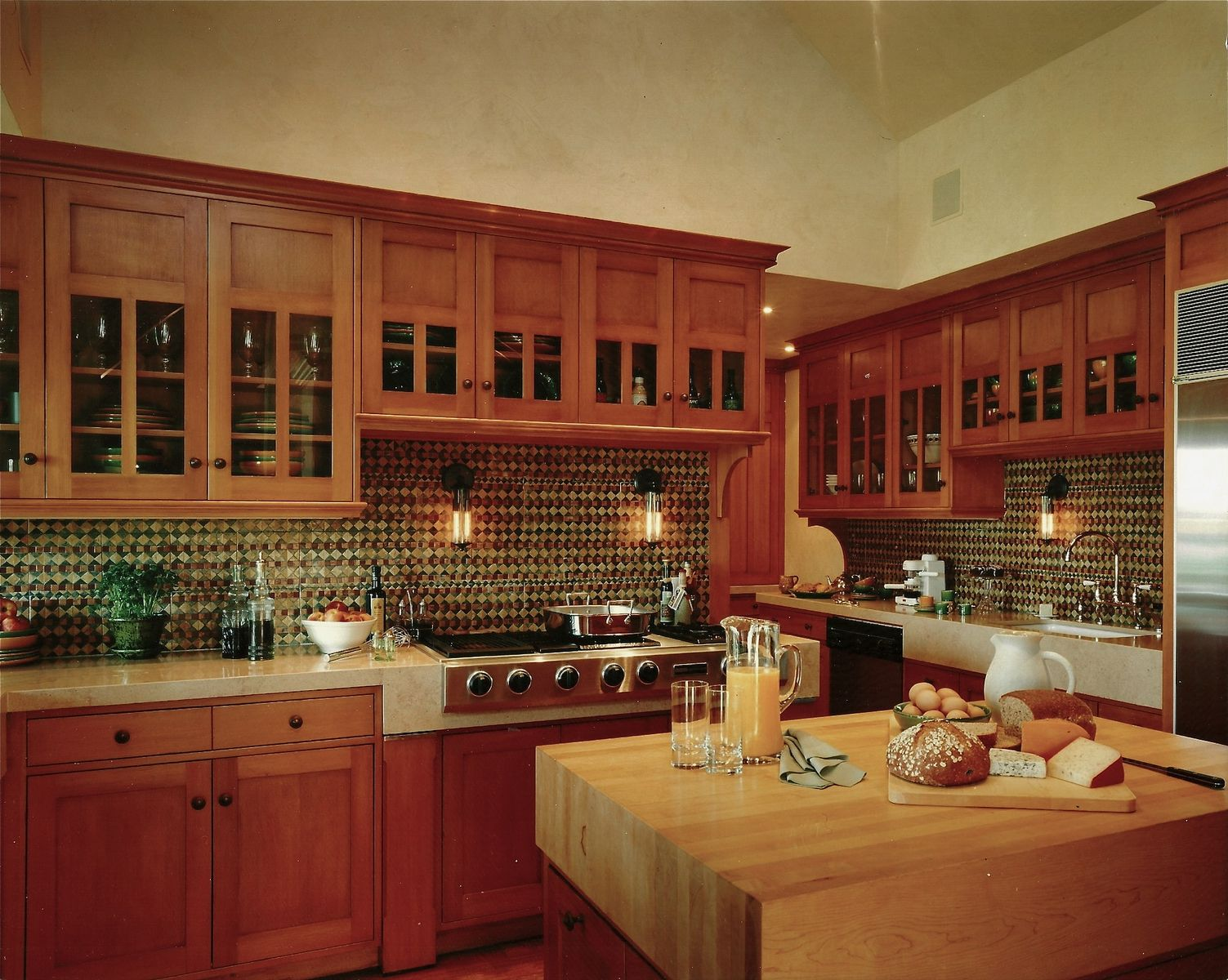 An Arts And Crafts Kitchen Custom Made By Steepleview Cabinetry