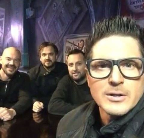 Zak Bagans, Aaron Goodwin, Billy Tolley and Jay Wasley
