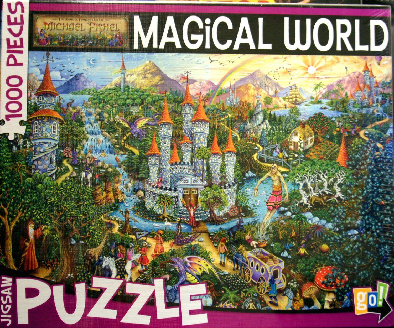 Michael Fishel MAGiCAL WORLD 1000 Piece Jigsaw