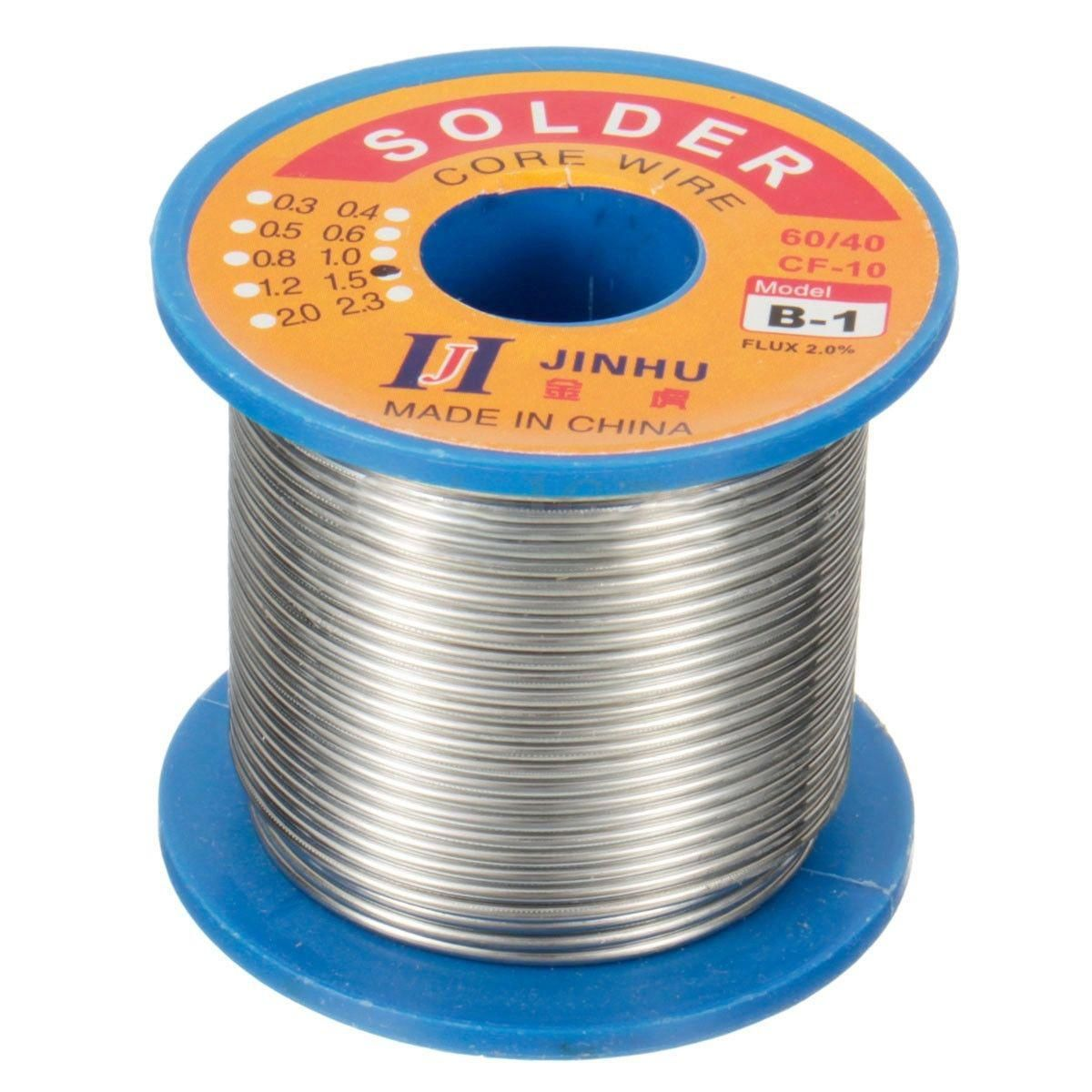 Hot Sale Jinhu 250g 60 40 Rosin Core Solder Welding Iron Wire Tin Lead 2 Flux Reel Tube Wire Reel Soldering Wire