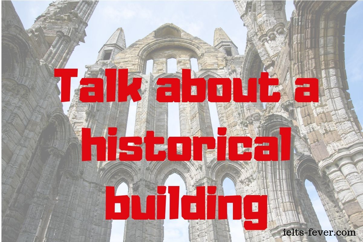 Talk About A Historical Building Speaking Cue Card With Images
