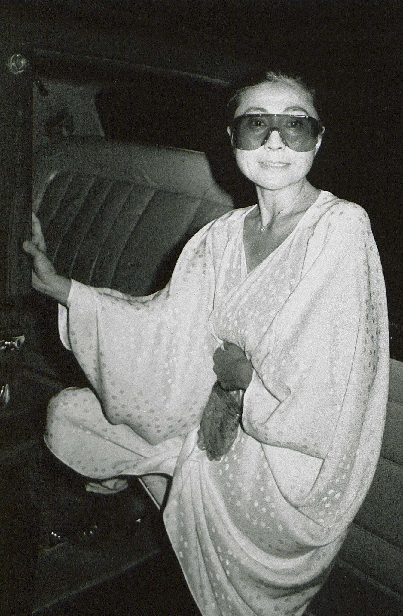 Yoko motorcycle gloves - 11 Great Shots Of Yoko Ono Unlikely Style Icon Gallery Style Com