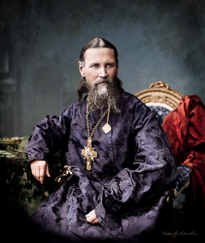 Saint John of Kronstadt by klimbims on DeviantArt