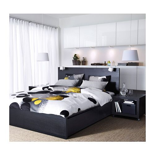 Fresh Home Furnishing Ideas And Affordable Furniture High Bed Frame Malm Bed Malm Bed Frame
