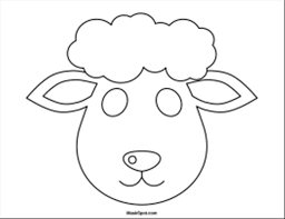 Image Result For Sheep Template Printable