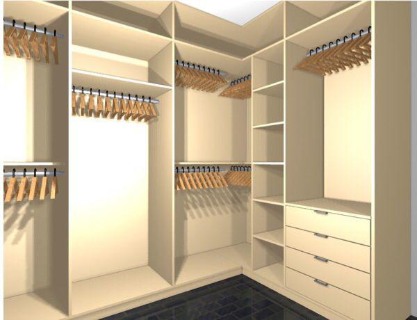 walk in closet idea bedroom decor pinterest schrank kleiderschrank und begehbarer. Black Bedroom Furniture Sets. Home Design Ideas